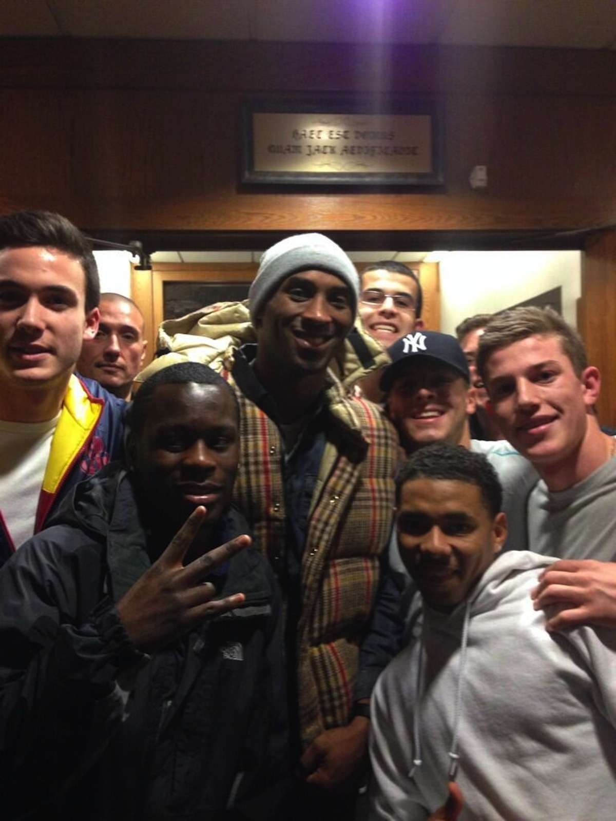 Kobe Bryant Photo Via Josh Reed On Twitter