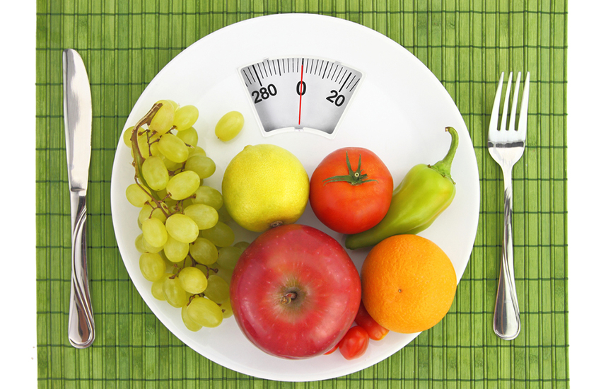 Diet and nutrition image via shutterstock