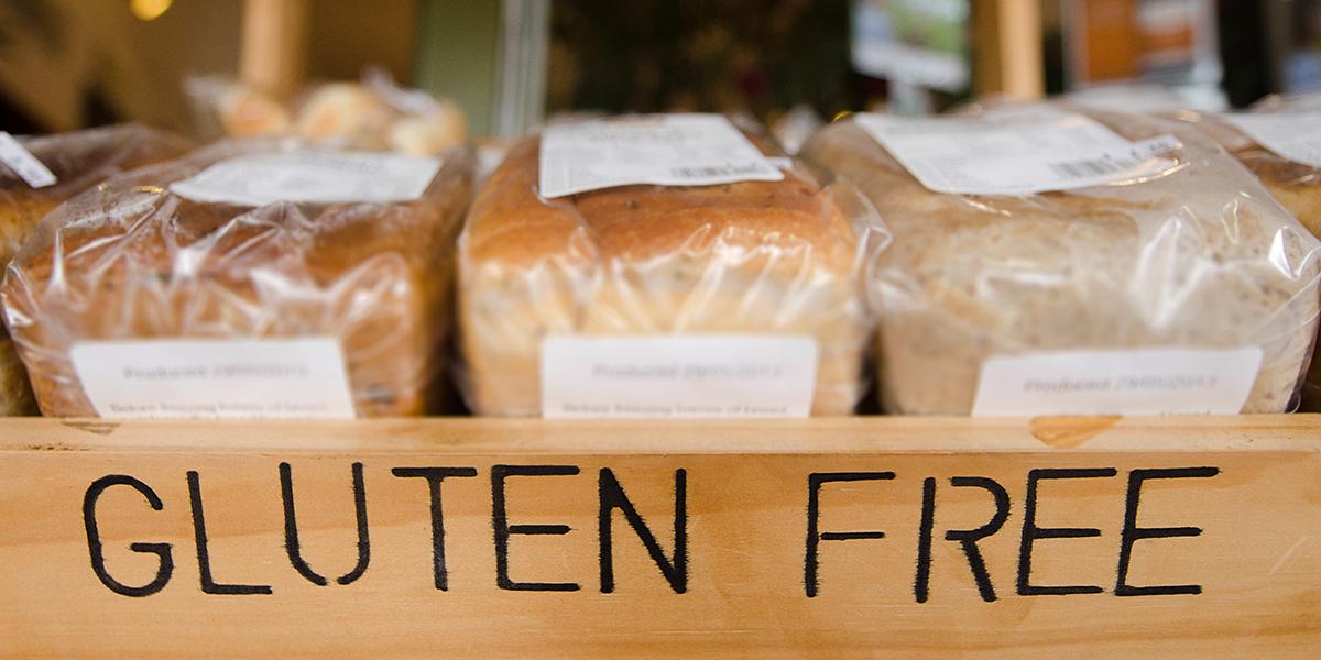 Gluten-free bread image via shutterstock