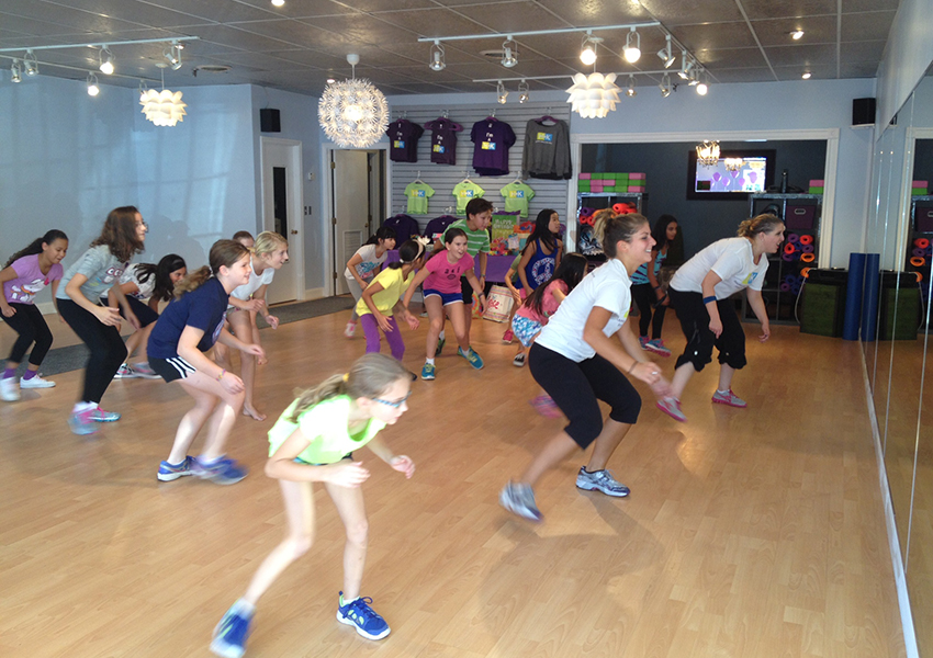Kids Zumba. All photos provided.