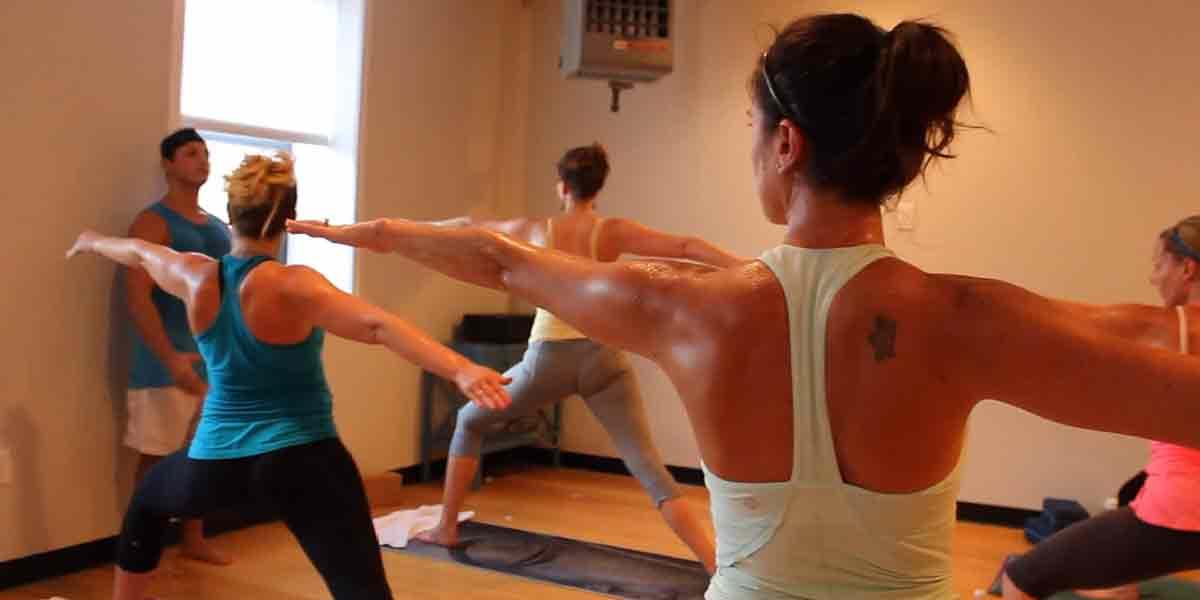 hot yoga image