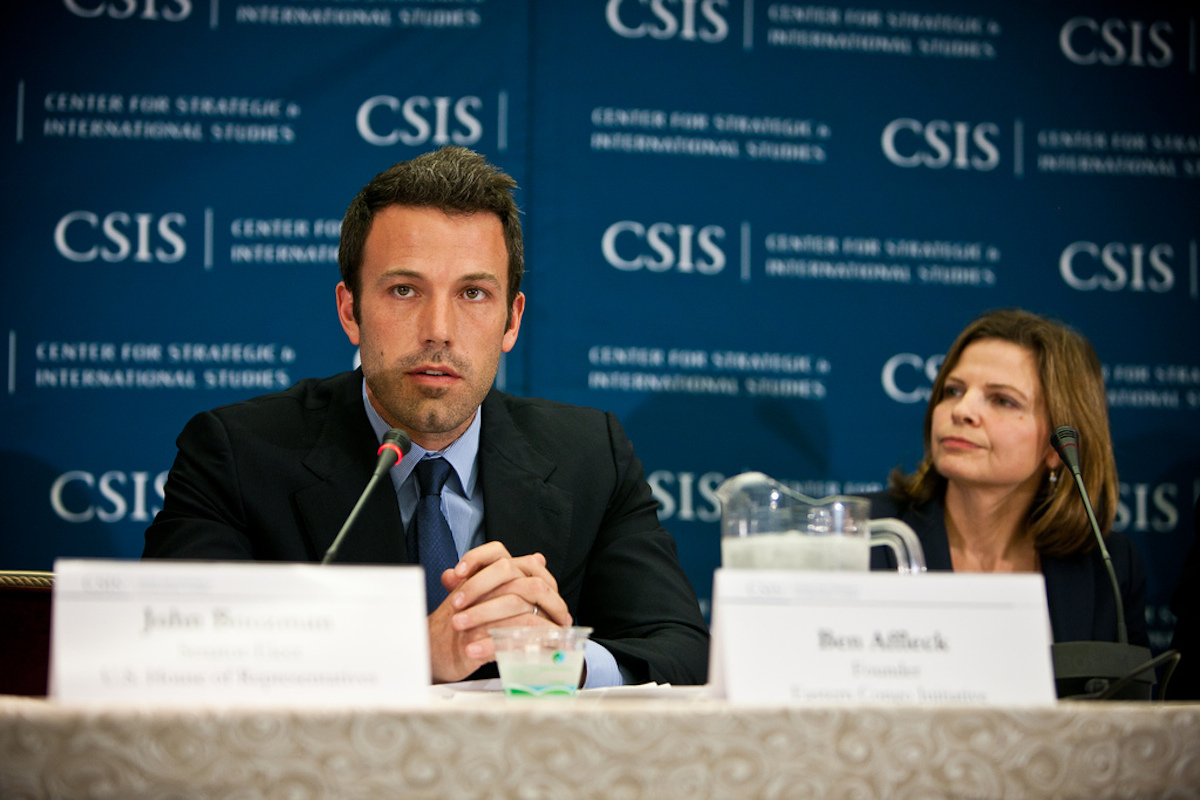 Ben Affleck Eastern Congo Initiative