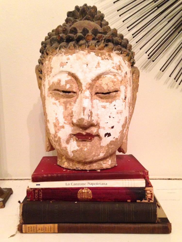 Antique Chinese Buddha head