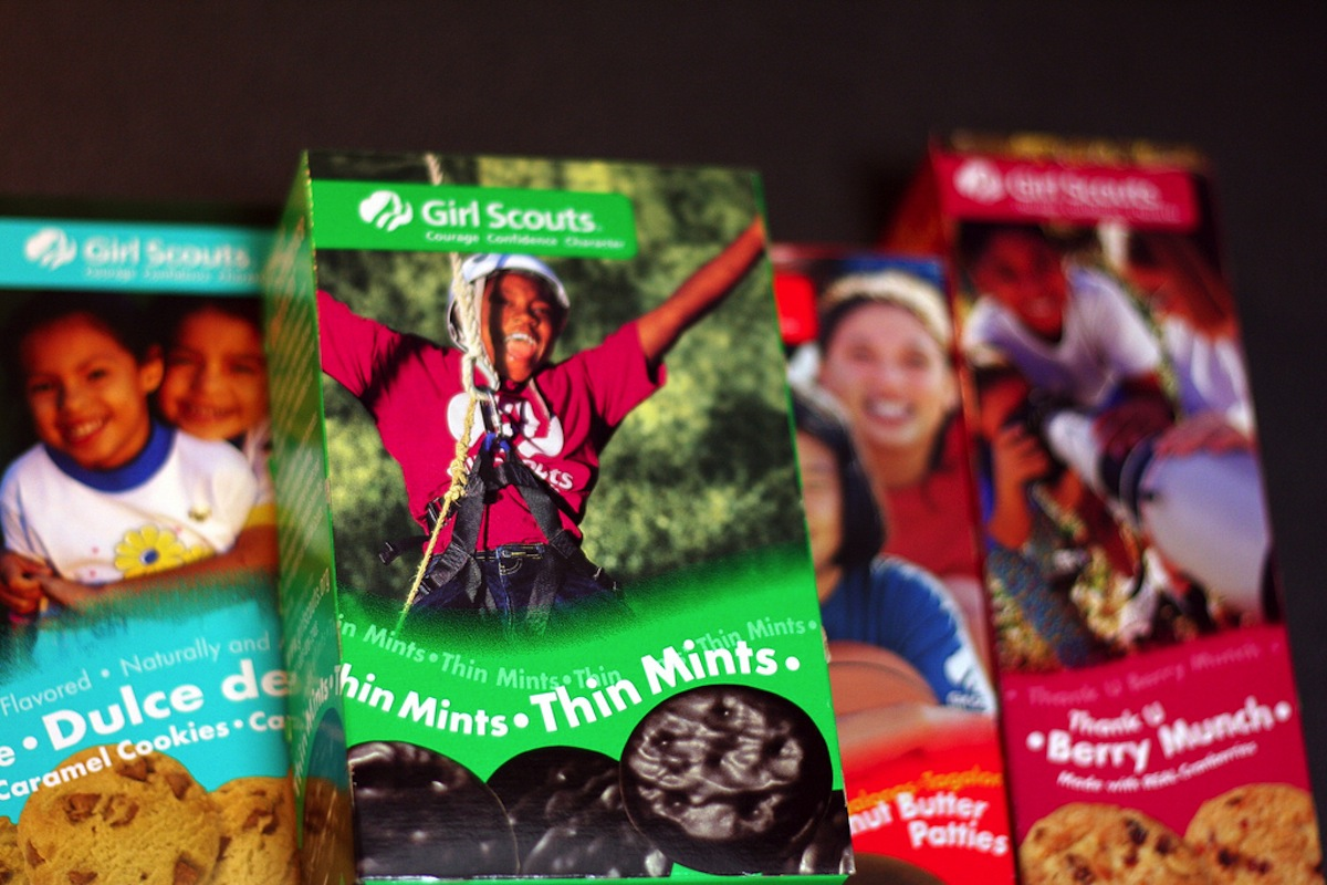 Girl Scout Cookies Photo uploaded by  Marit & Toomas Hinnosaar on Flickr