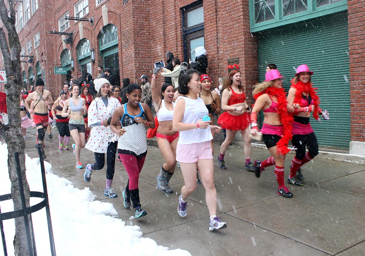 cupid's undie run boston 2014