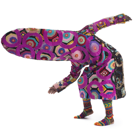 Nick-Cave-Soundsuit-2013-pink-crochet-1