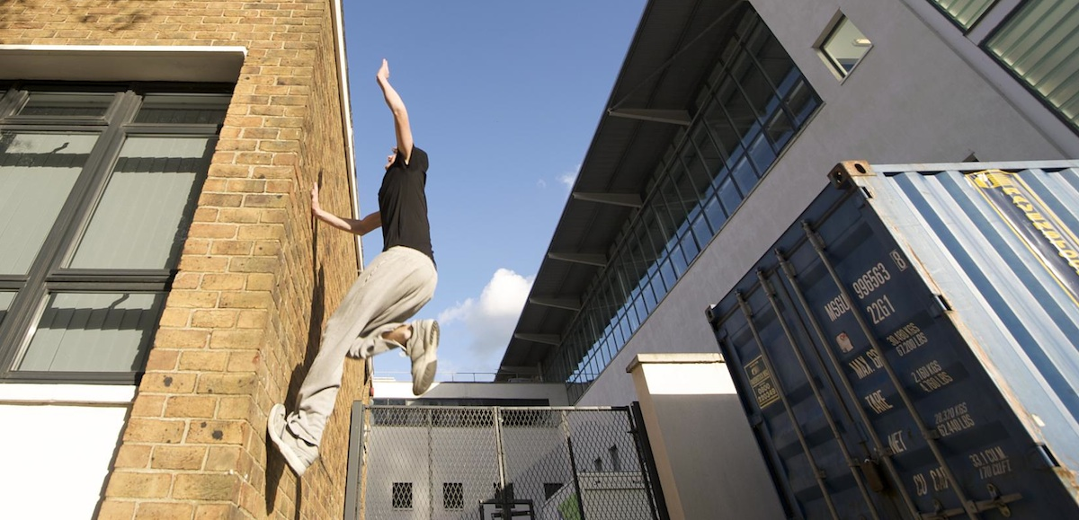 Parkour photo uploaded by  geishaboy500 on Flickr