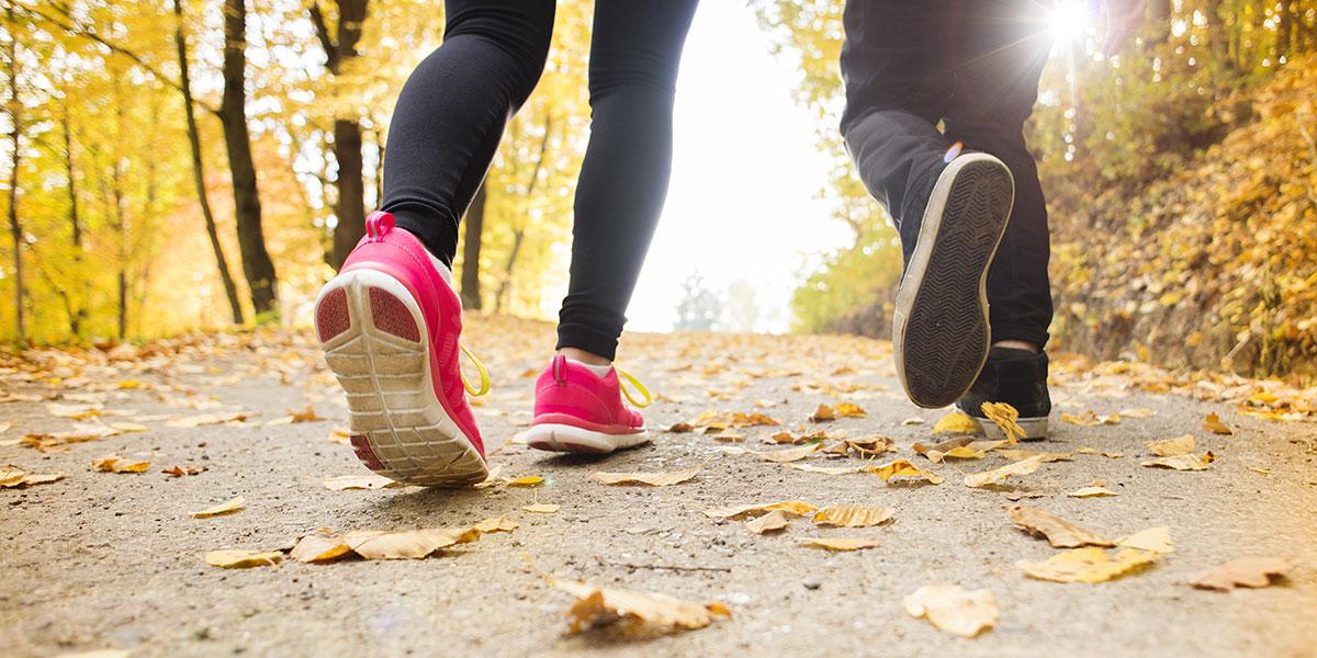 Couple jogging image via shutterstock