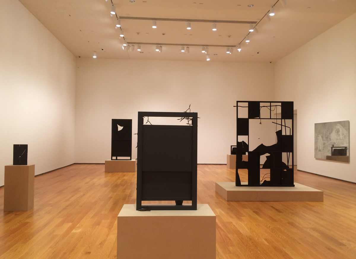 Installation View, Davis Museum, Wellesley, 2014