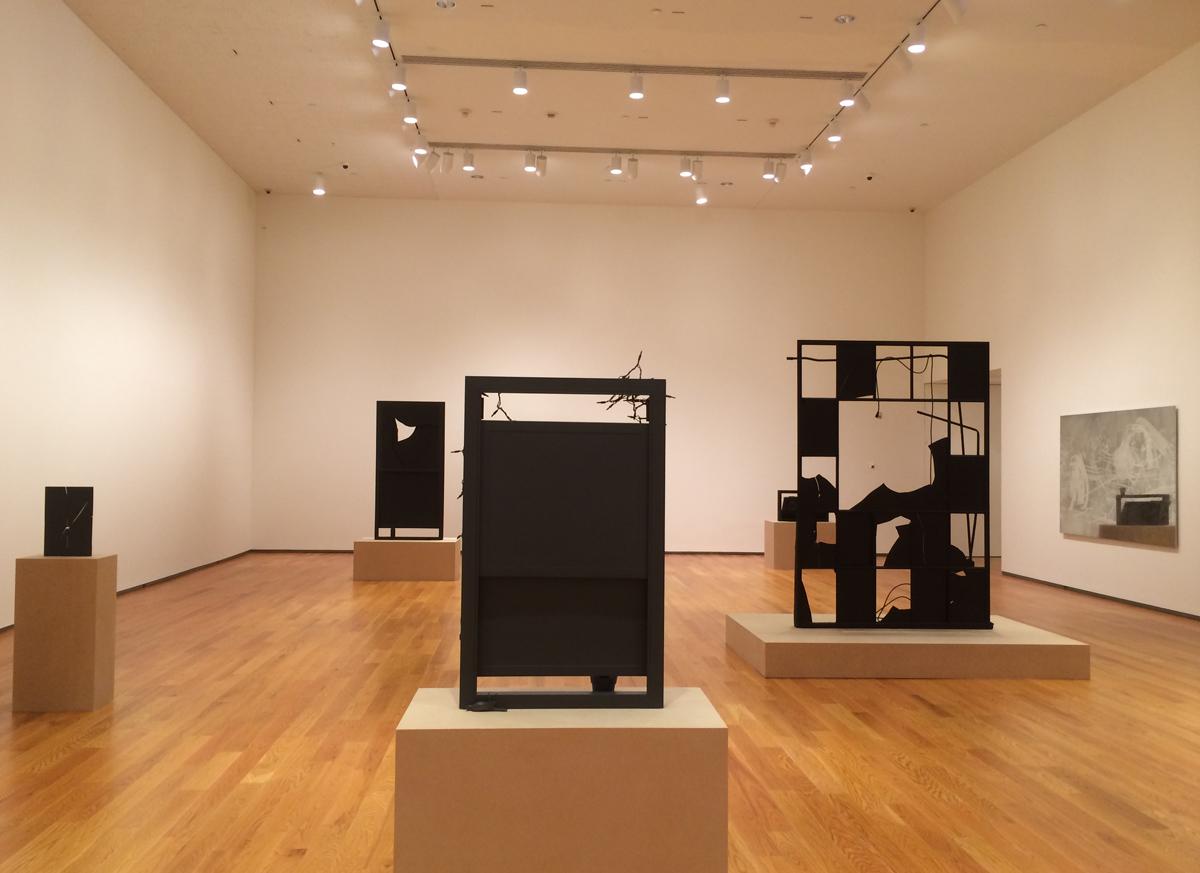 Installation View, Davis Museum, Wellesley, 2014