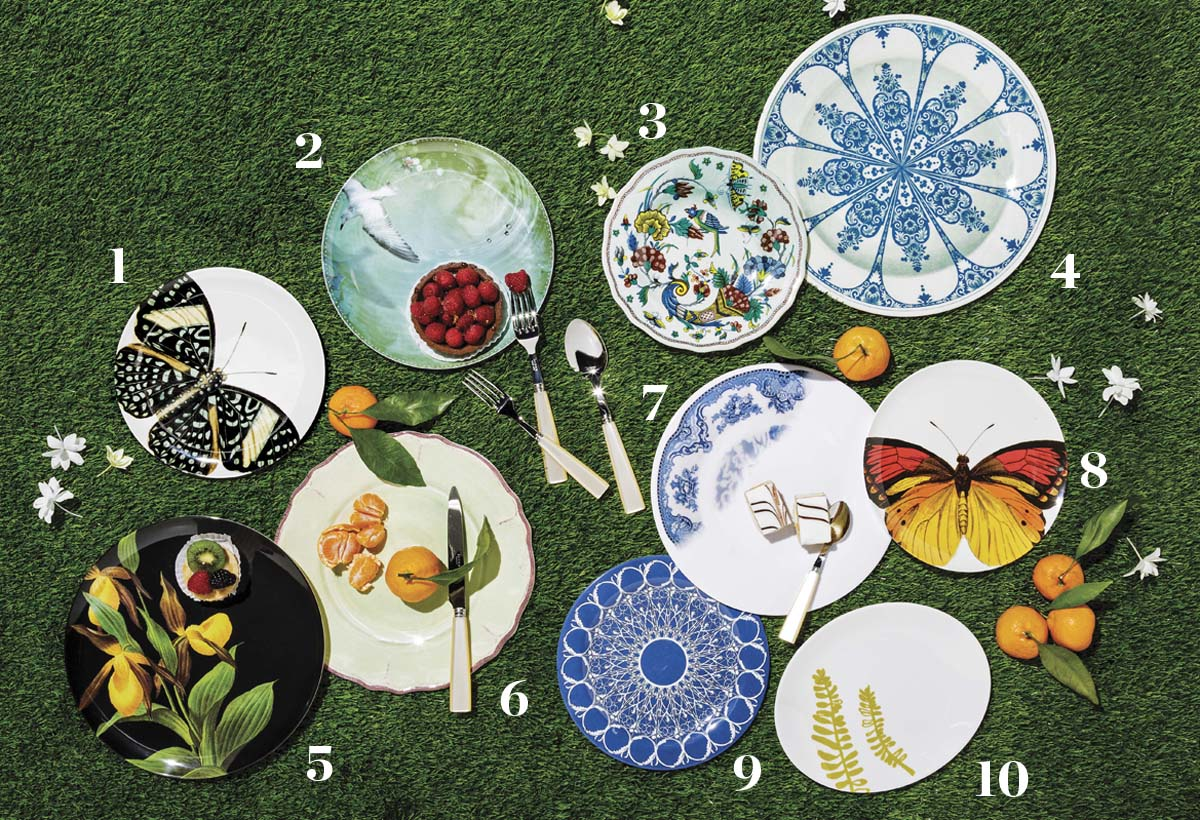 melamine picnic plates