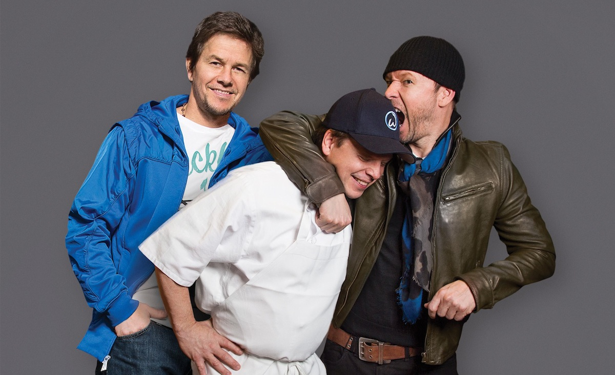 Mark, Paul and Donnie Wahlberg