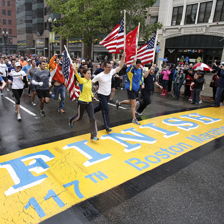 Boston Marathon Last Mile