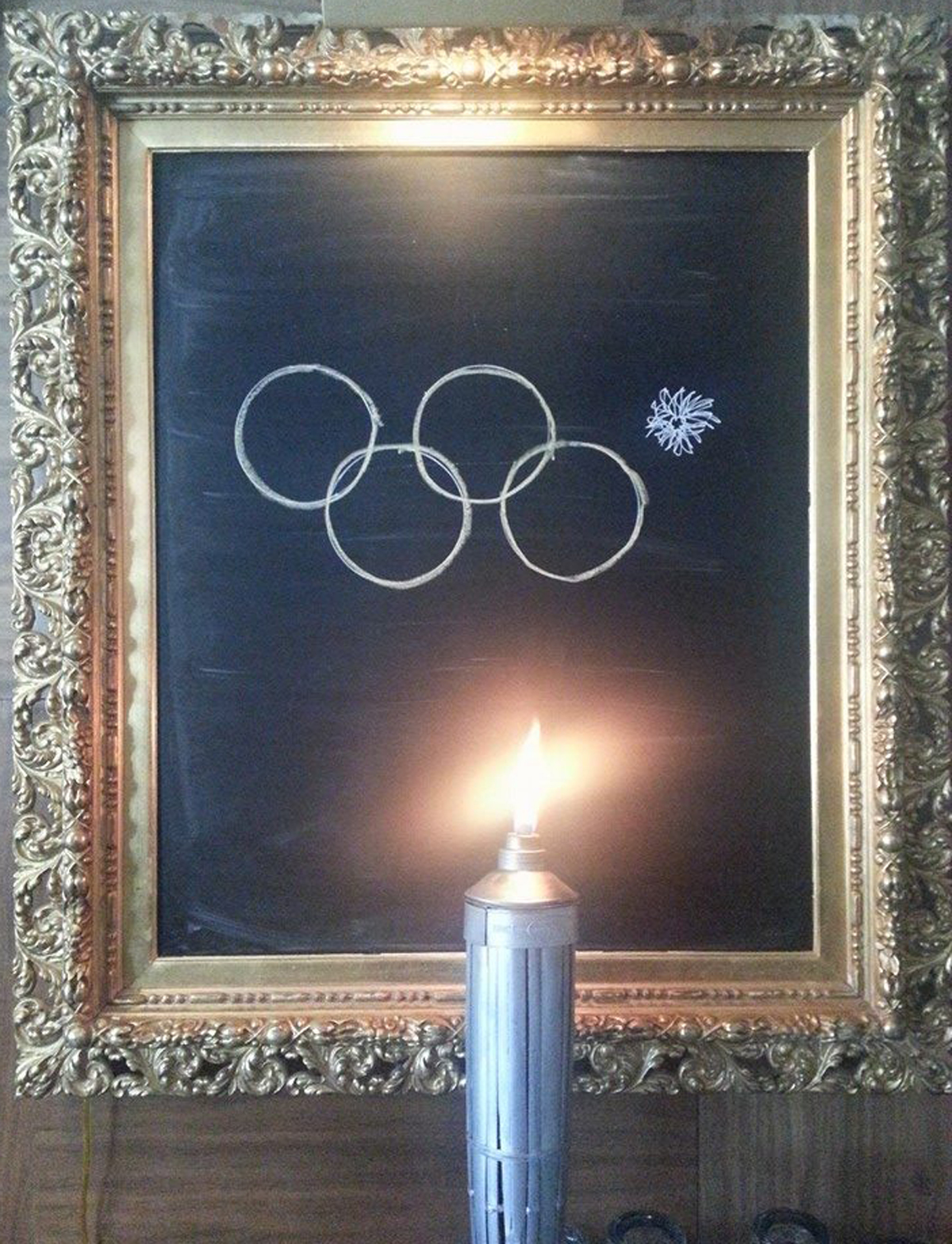 Parlor Sports Olympic Torch