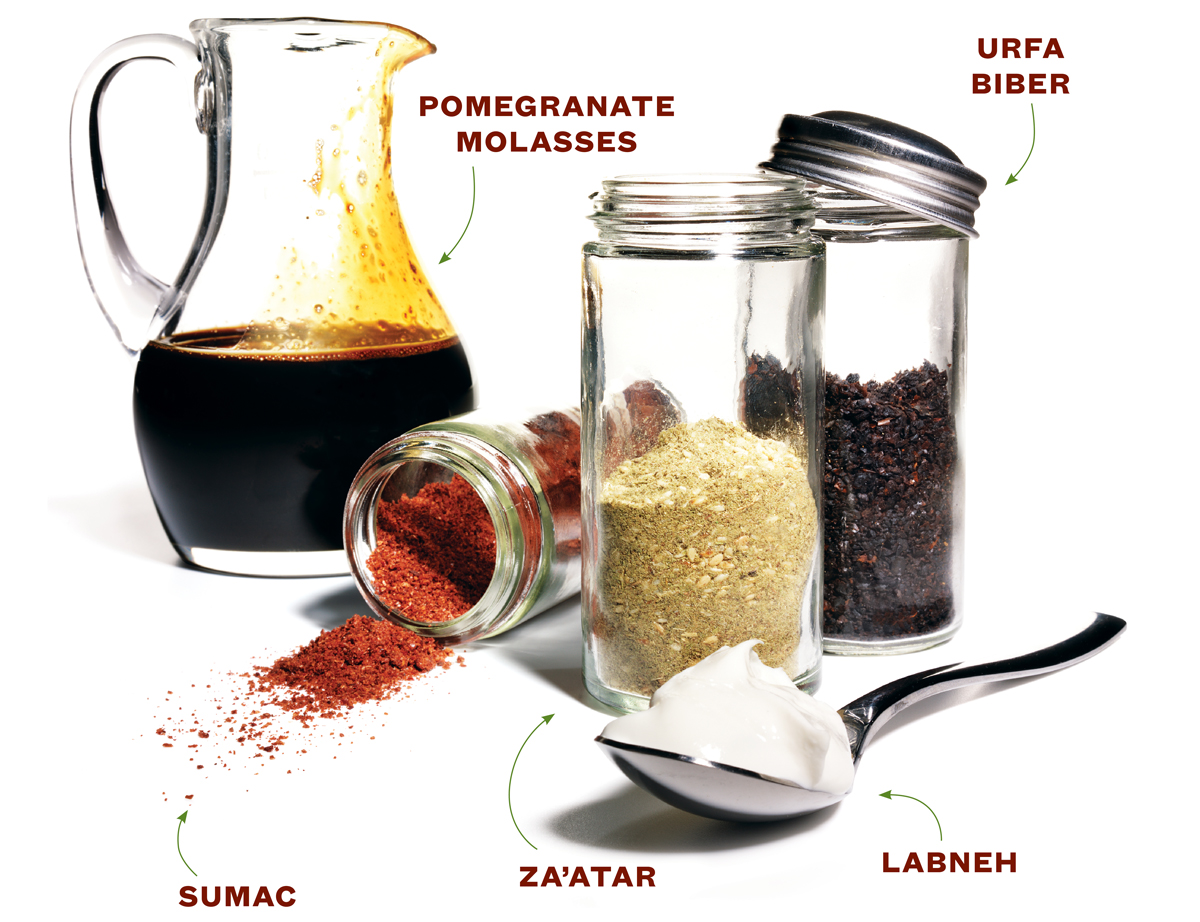 middle-eastern spices