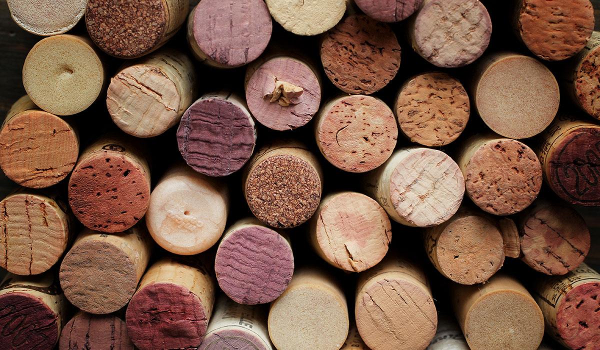 Wine corks image via shutterstock
