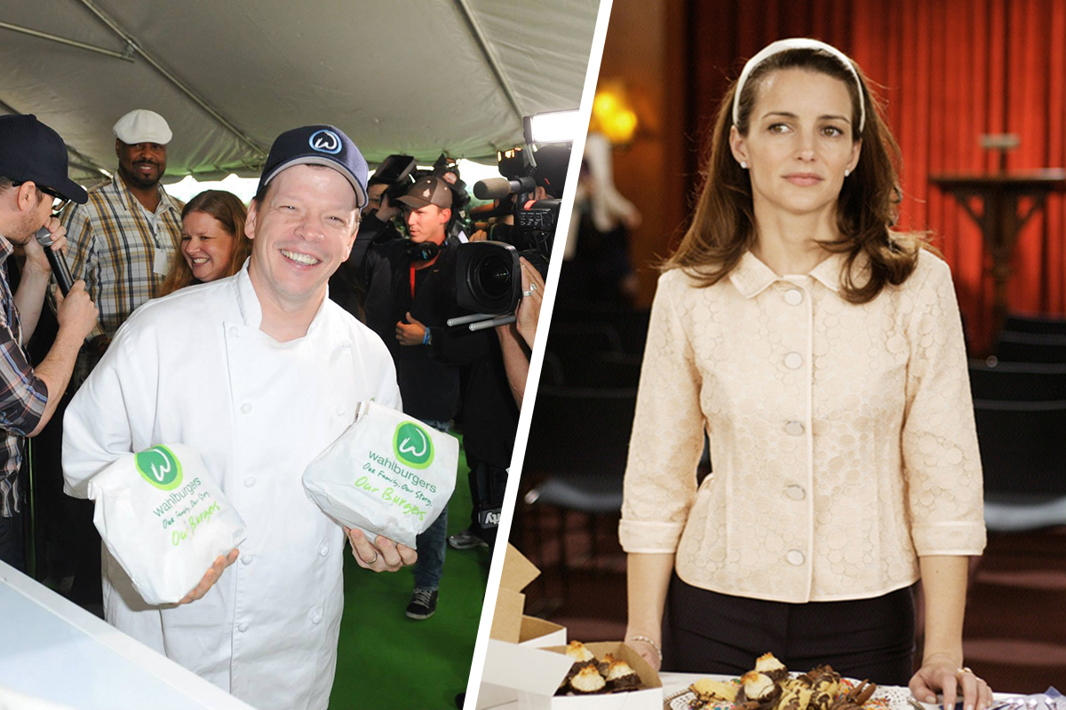 Paul Wahlberg Is Charlotte from Sex and the City