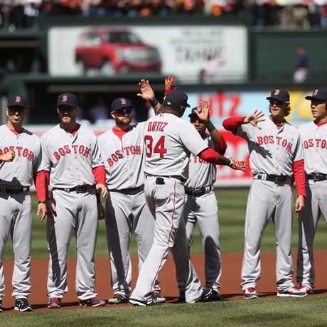 MLB 2014: Red Sox vs Orioles  MAR 31