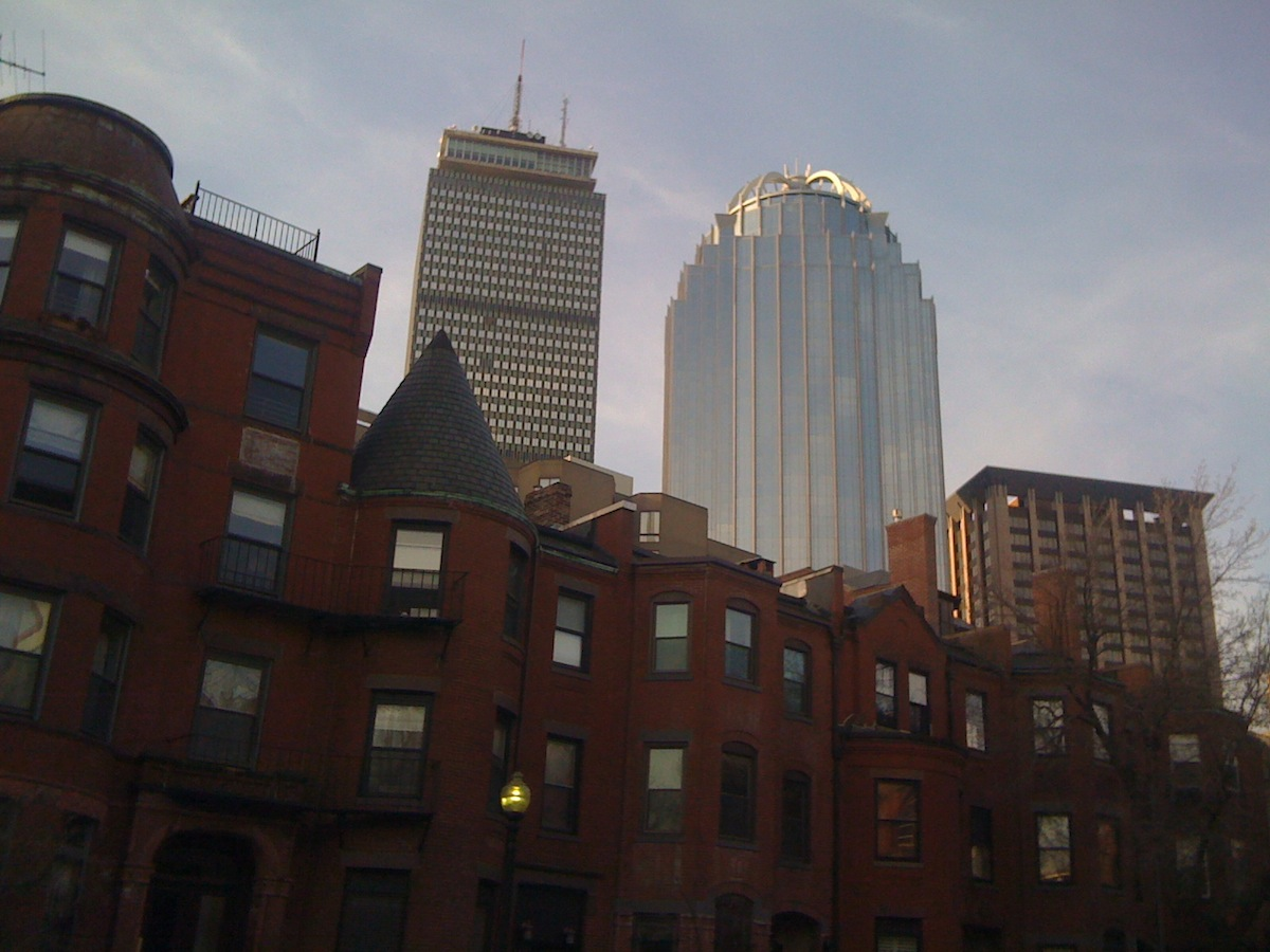 Back Bay Photo Uploaded by Mark Choquette on Flickr