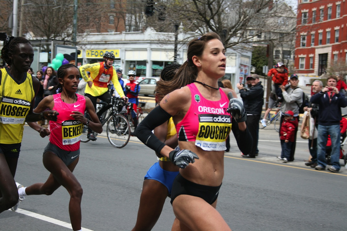 Boston marathon photo uploaded by Stewart Dawson on Flickr