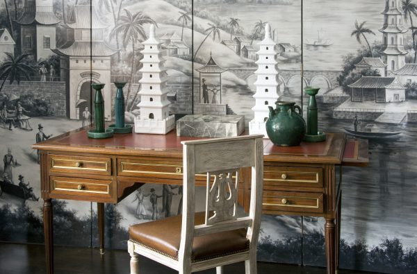 A display created by Kristin Paton at her store, Kristin Paton Home.