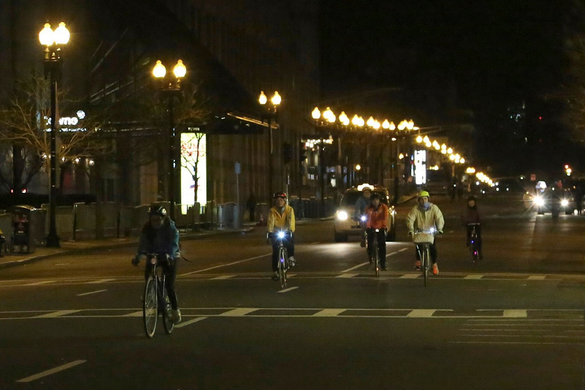 Midnight Bike Ride photo uploaded by BU Interactive News on Flickr