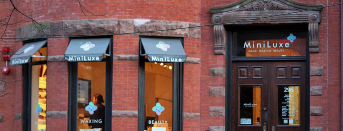 Miniluxe on Newbury Street