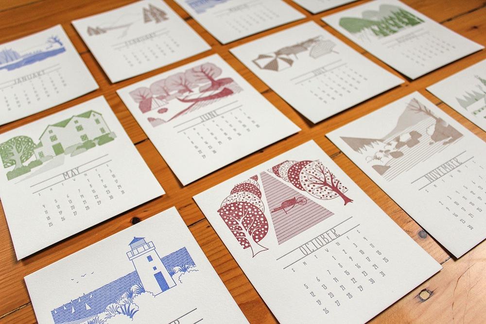 Pressbound Calendar