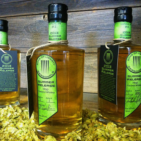 Sons of Liberty hop whiskey