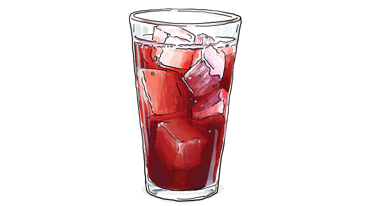 Sorrel Drink Illustration