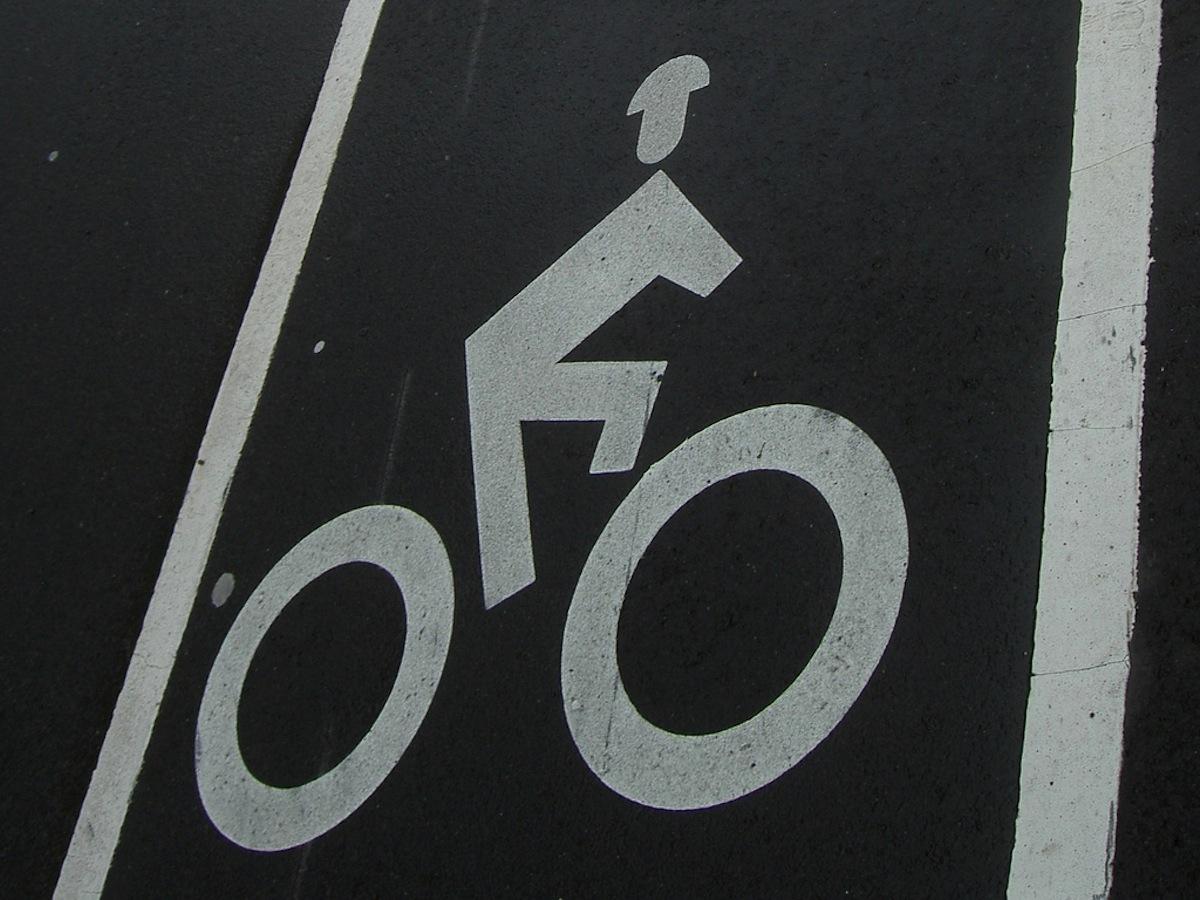 Bike Lane photo Uploaded by Dan4th on Flickr