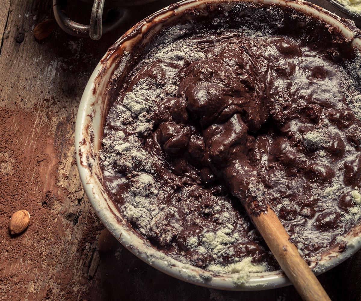 homemade chocolate image via shutterstock
