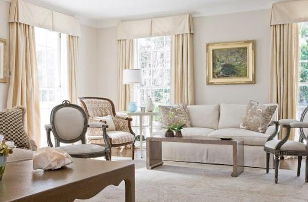 A peek at a living room designed by Lynn Dayton/Photo provided.
