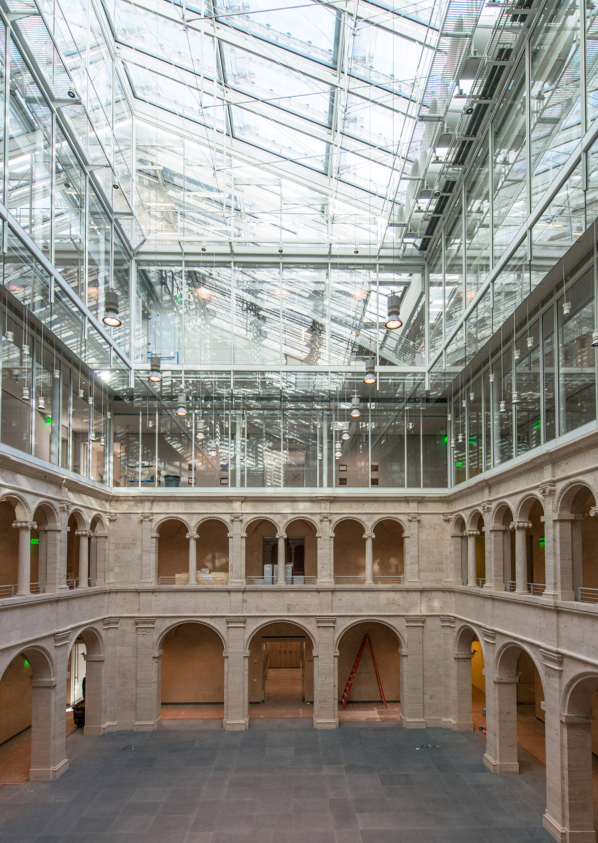 harvard art museums renovation 2