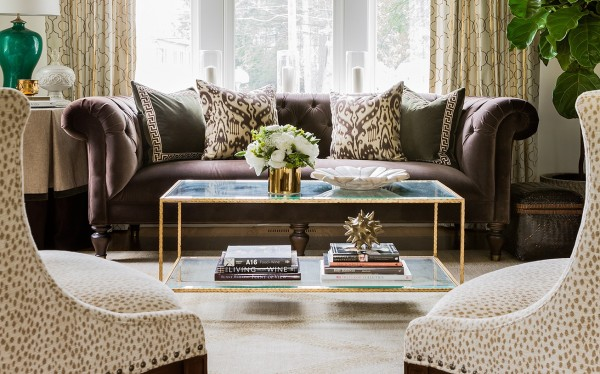 A view of an Erin Gates living room design.