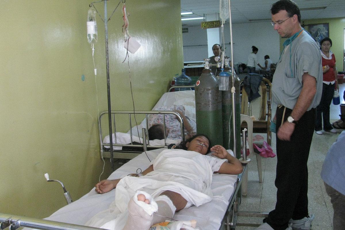 Nicaragua hospital