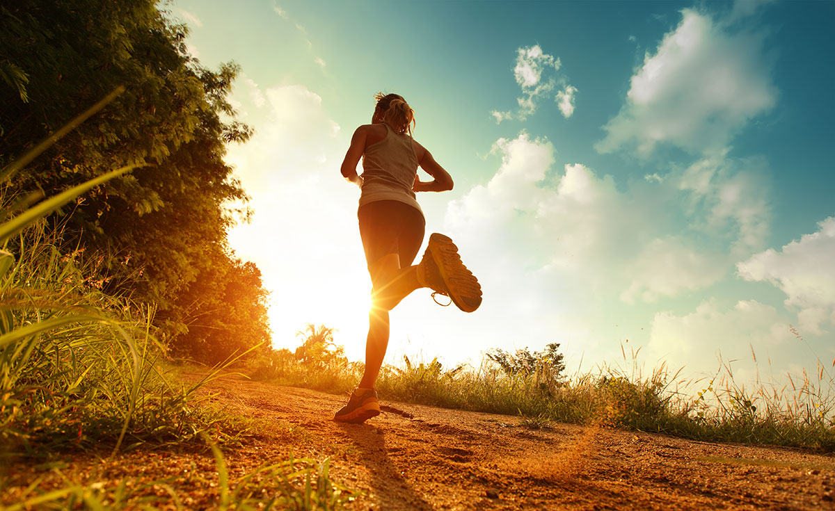 Runner in the Park image via Shutterstock