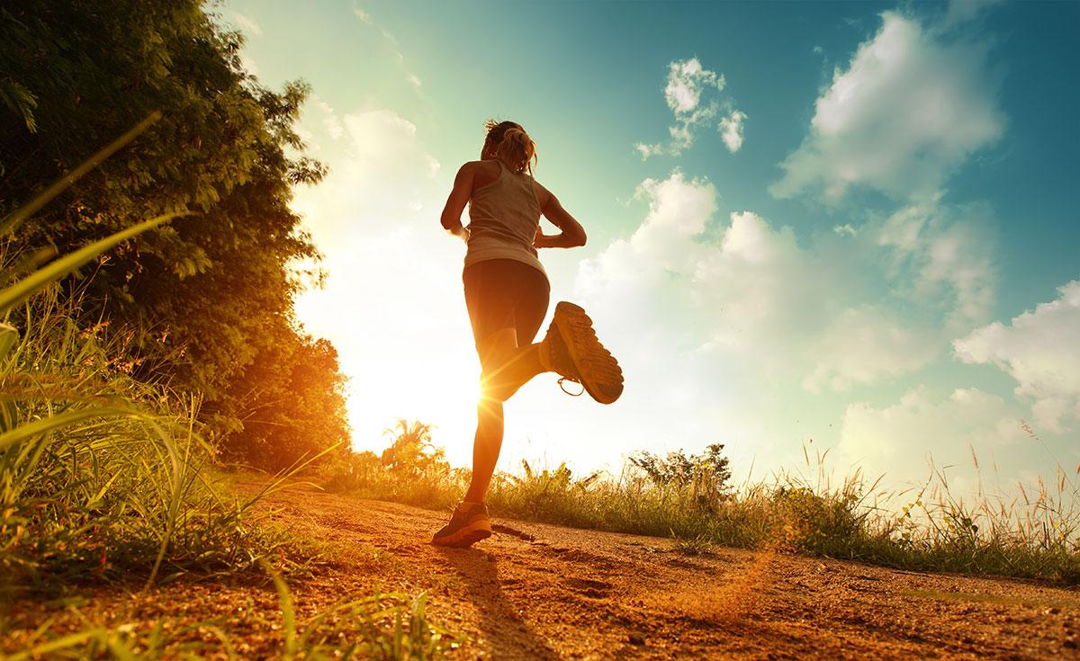 Runner in the Park image via Shutterstock