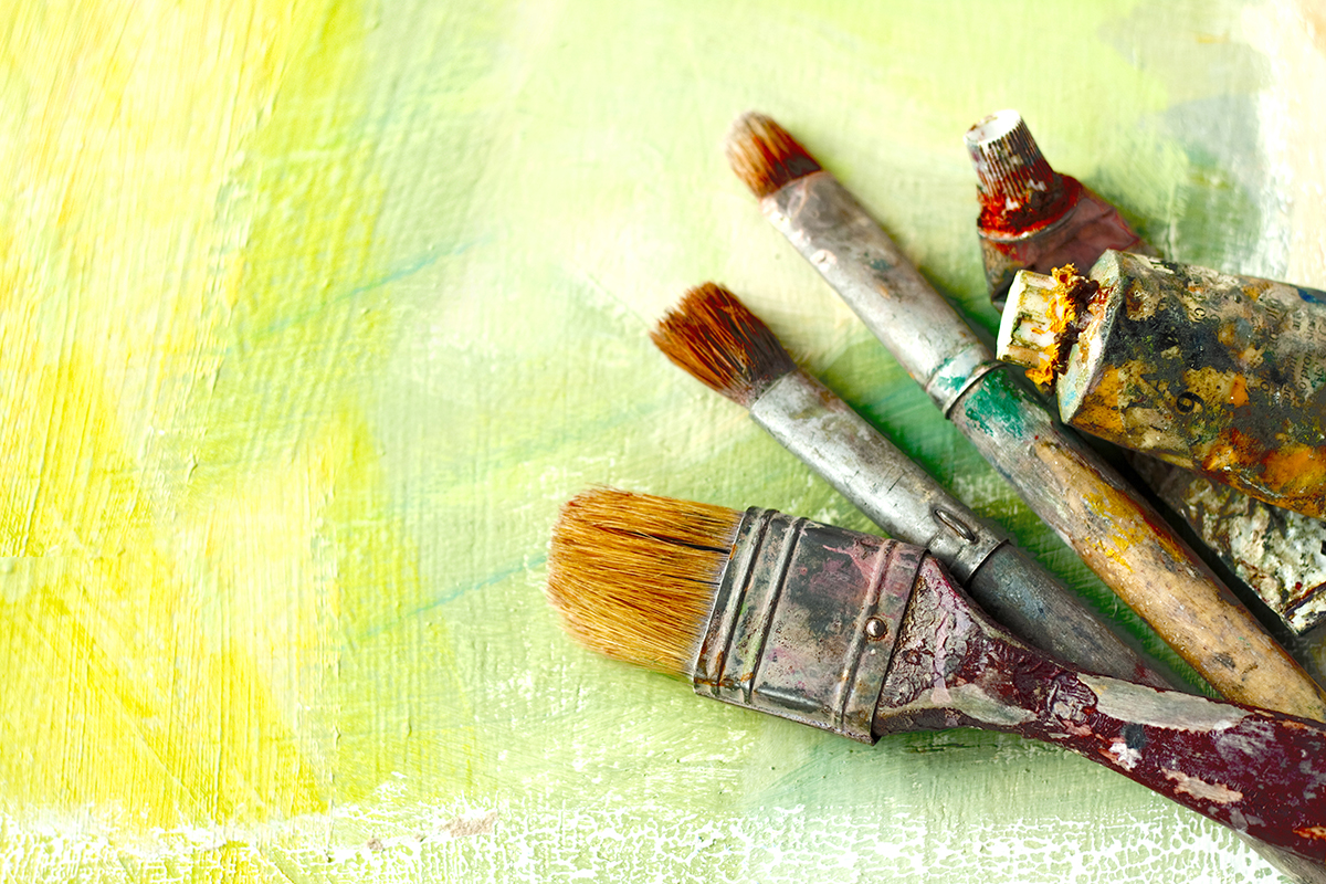 Paint Photo via Shutterstock