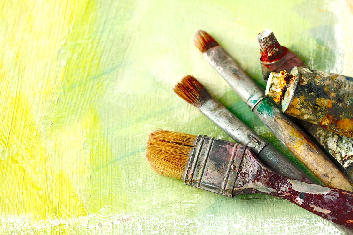 Paint Photo via Shutterstock