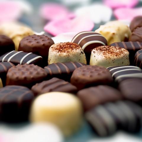 Chocolate Truffles via Shutterstock