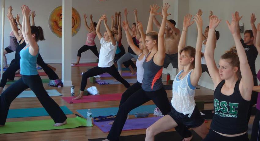 A Health Yoga Life Class. Image provided.