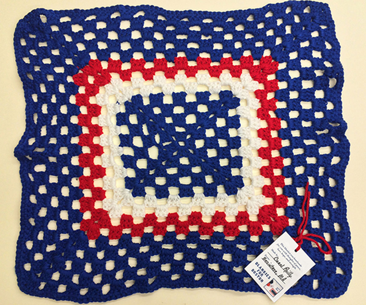 Harvard University blanket