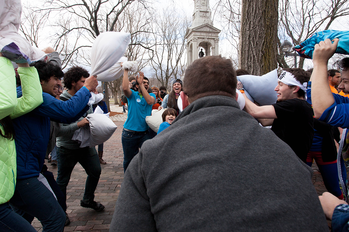 boston pillow fight day 2014