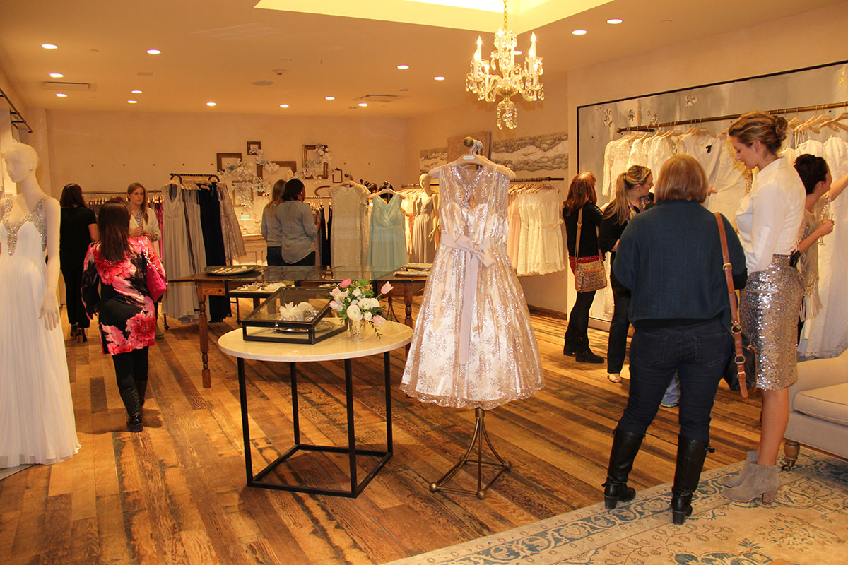 The BHLDEN store at Anthropologie.