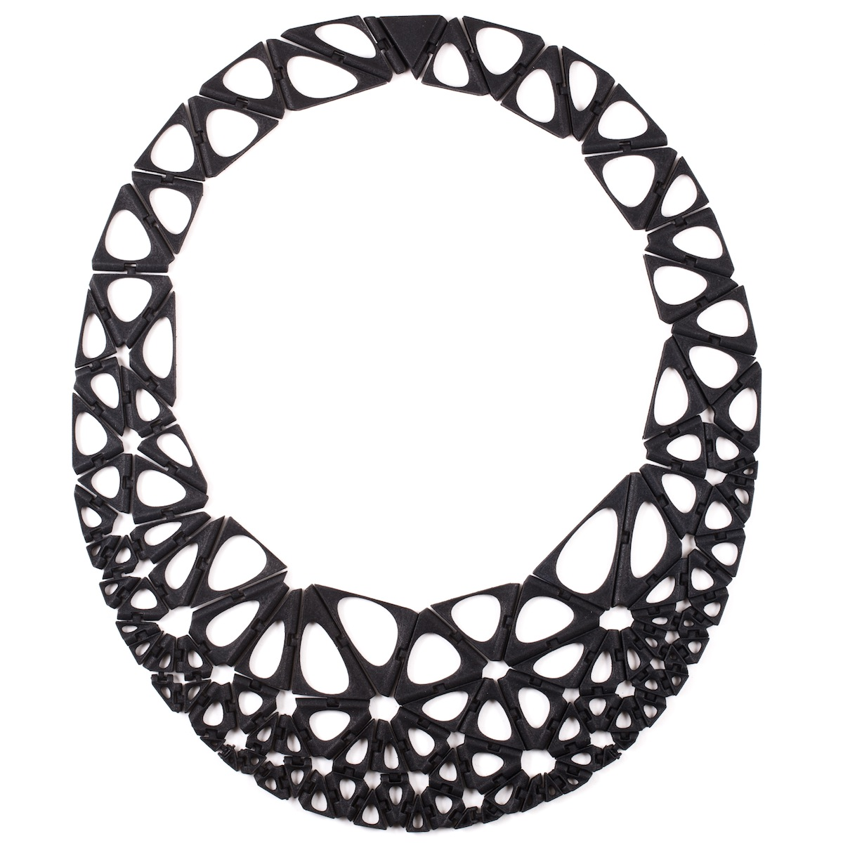 A 3D-printed necklace from nervous System