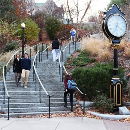 boston college million dollar staircase