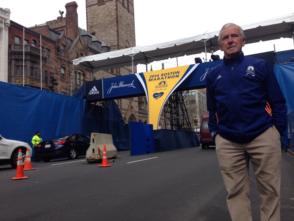062691f6c7979 Finish Line Coordinator Tom Meagher Is Ready for Another Marathon