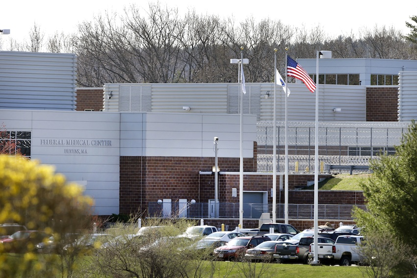 Devens Federal Medical Center, where Tsarnaev is kept. (Associated Press)
