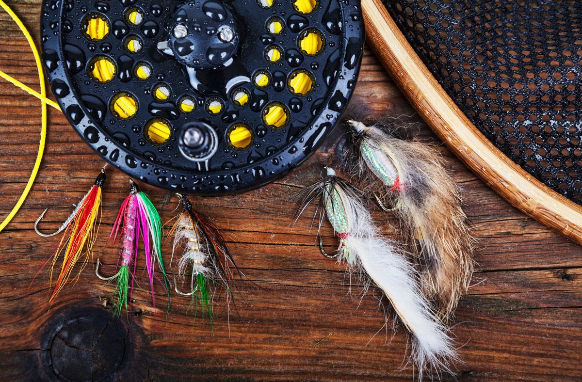 Fly fishing photo via Shutterstock